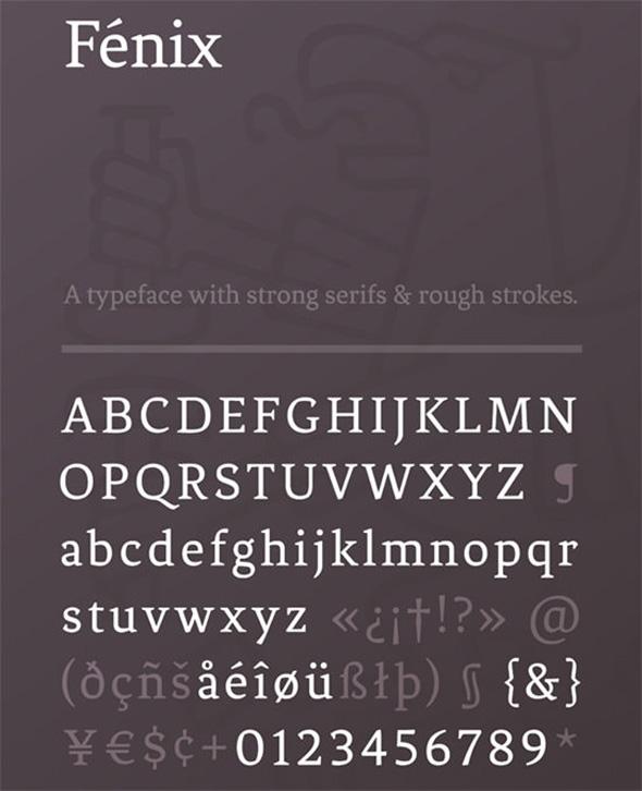 Fénix (FREE Typeface)