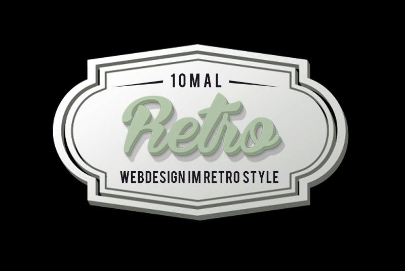 10 inspirierende Beispiele für Webdesign im Retro Style