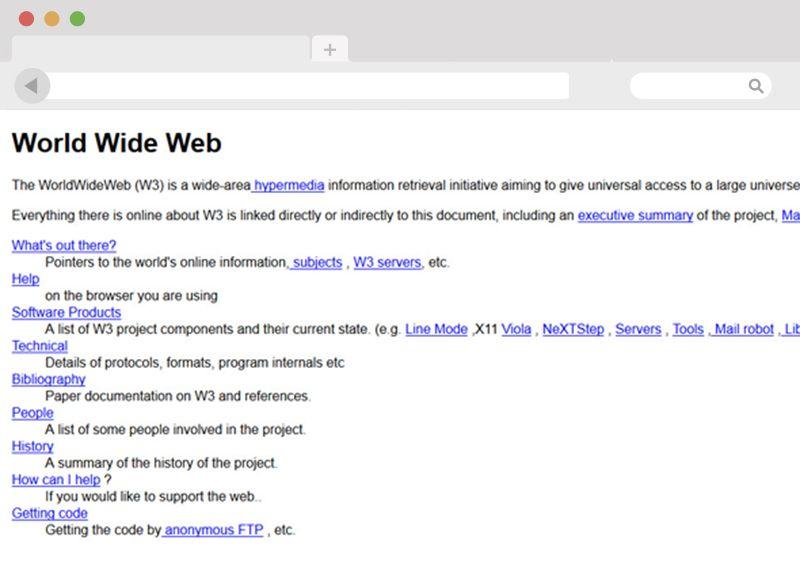 Erste Website