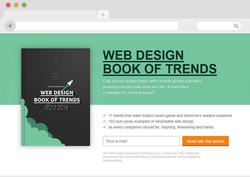 Webdesign Trends 2013 und 2014