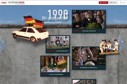 Das Webdesign schreibt Geschichte – Herzlichen Glückwunsch, Berlin!