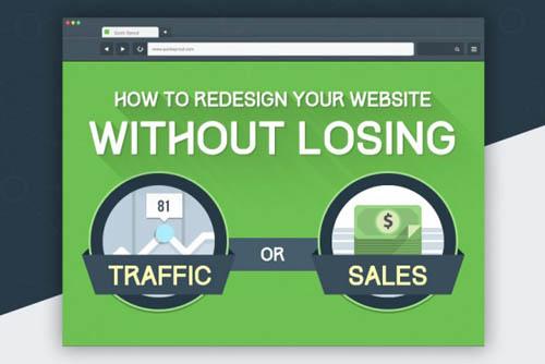Website-Relaunch ohne Traffic-Verlust (Infografik)