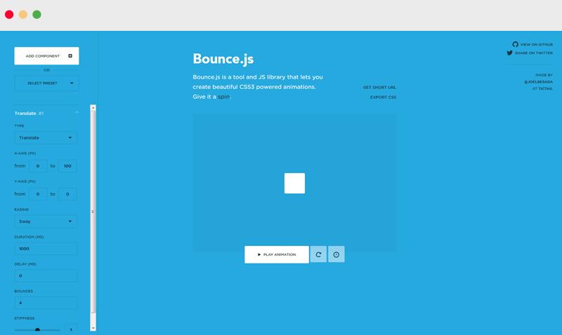 Bounce-js