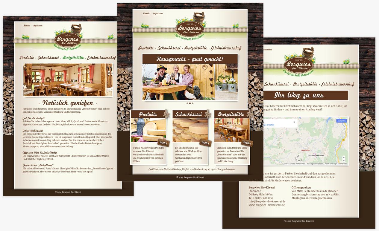 Bergwies Website