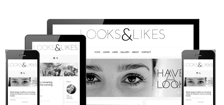 LooksandLikes Responsive Mobile