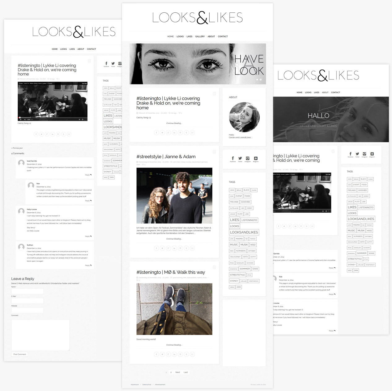 LooksandLikes Website