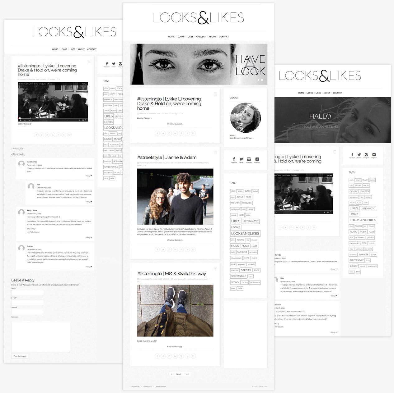 LooksandLikes Website