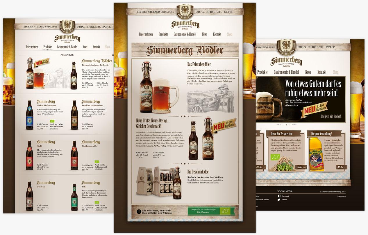 Simmerberg Website