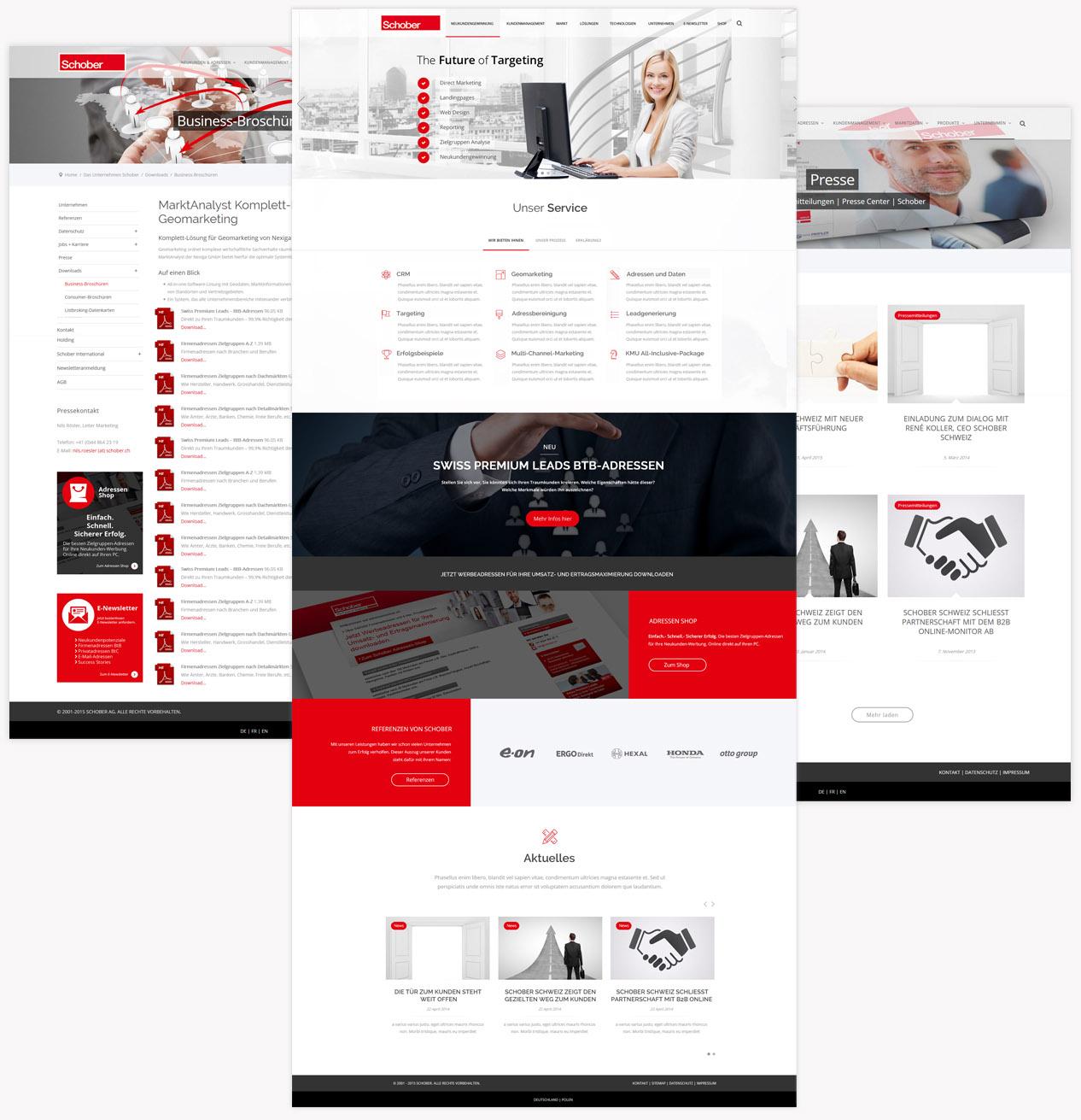 Schober Webseite