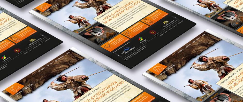 Webdesign Archäopark